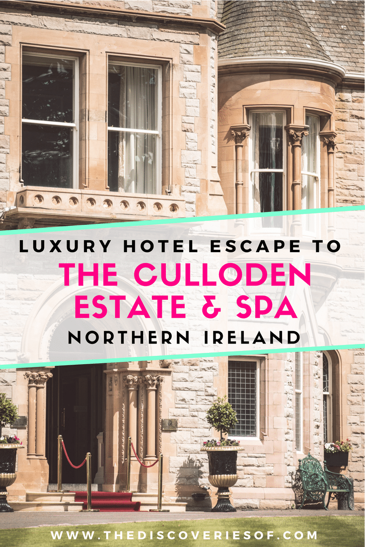 The Culloden Estate & Spa is a luxury hotel on the outskirts of Belfast, Northern Ireland and the perfect destination for a UK weekend break. Check out our in-depth review of the room, suites, bedroom, bathroom, pool and spa. Read now #luxury #uk #travel