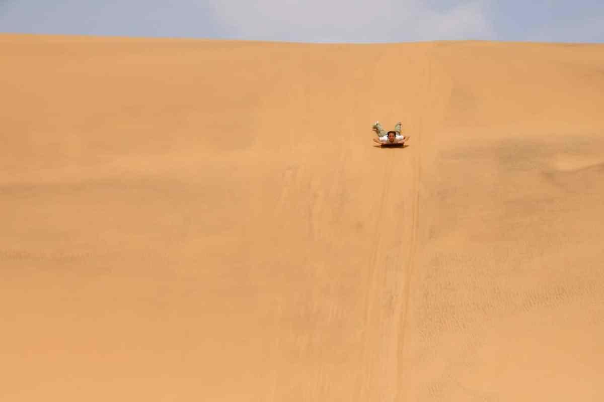 sandboarding in Mui Ne