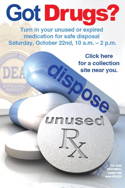 DEA Curbing Prescription Drug Abuse with Drug Take Back Day