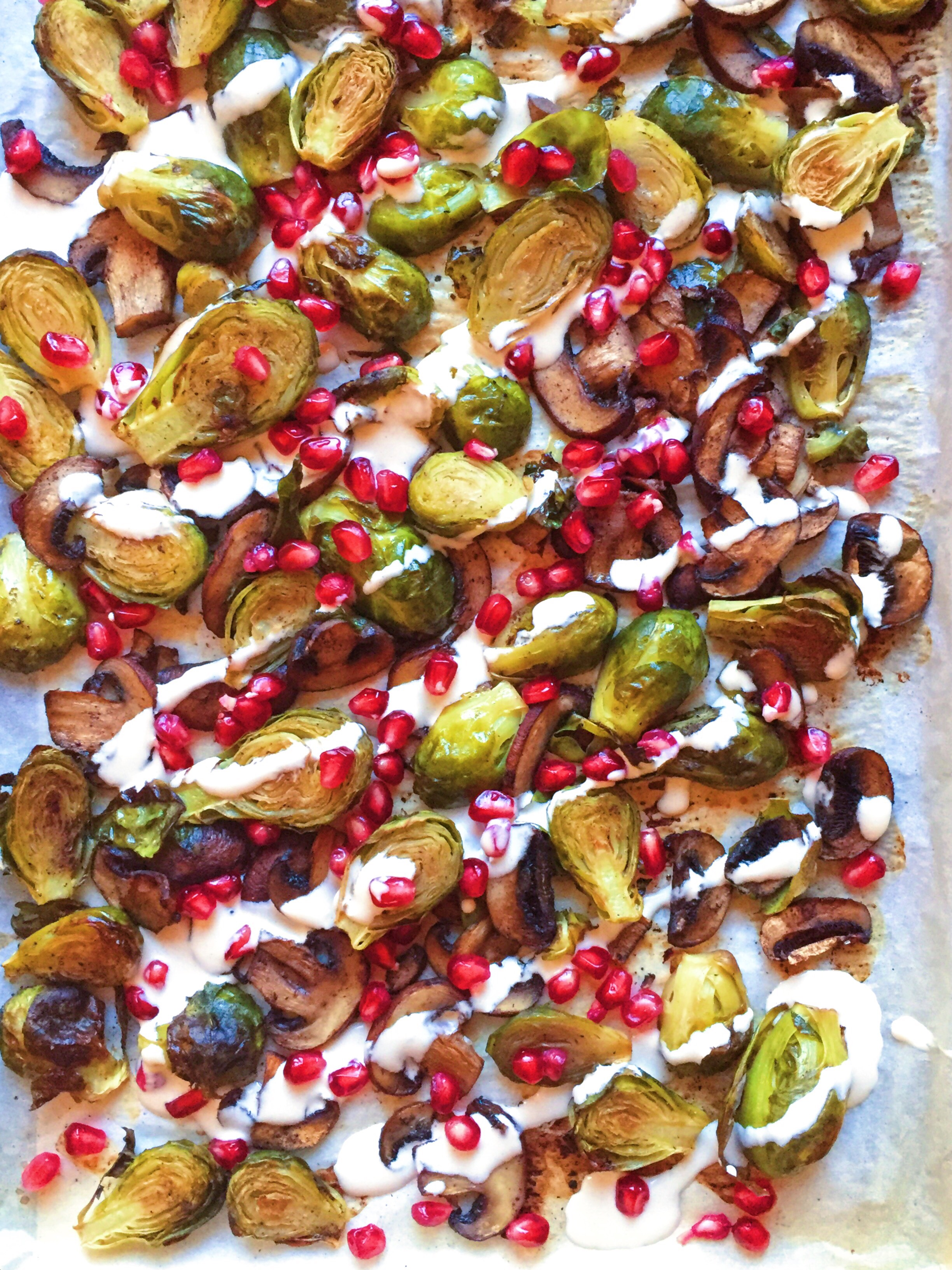 171cec348edf Brussels Sprouts with homemade Lemony Tahini - The Dish On Healthy