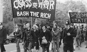 Class War - bash the rich.
