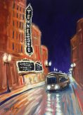 Tennessee Theater, acrylic on panel, 12 x 16 inches