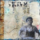 Donna Conliffe, Ready, mixed media on canvas, 12 x 12 in.
