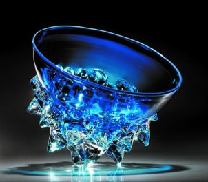 glass thorn vessel