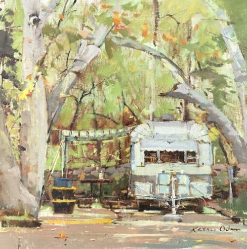 Mara Manning: expressionist art knoxville