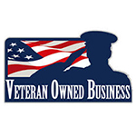 Veteran business owned logo