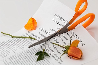 divorce papers when dealing with divorce