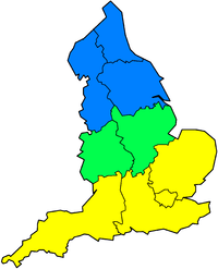 North-South divide UK