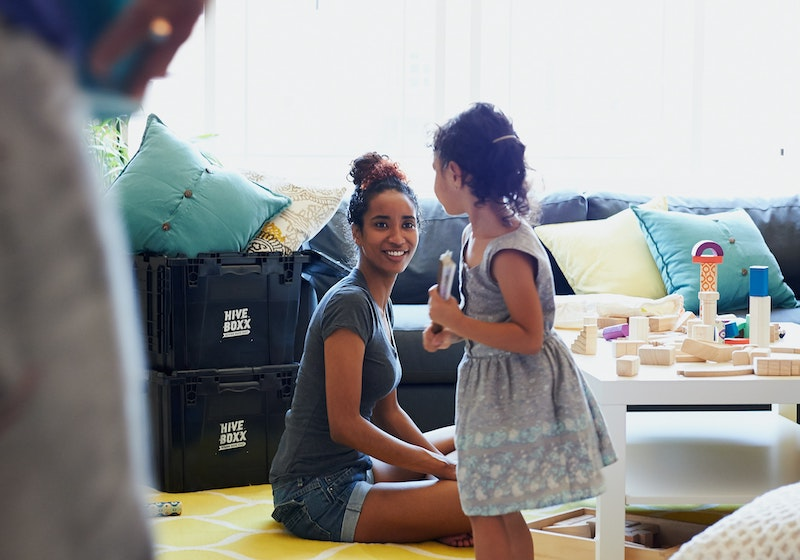 Decluttering to move out of a family home after divorce