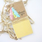 How to Achieve Different Results Using the Same Stamp Set www.thediyday.com @thediyday