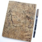 How to Create a Weathered Notebook www.thediyday.com @thediyday