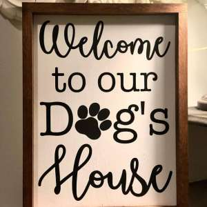 Welcome to our dogs house