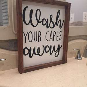 wash your cares away