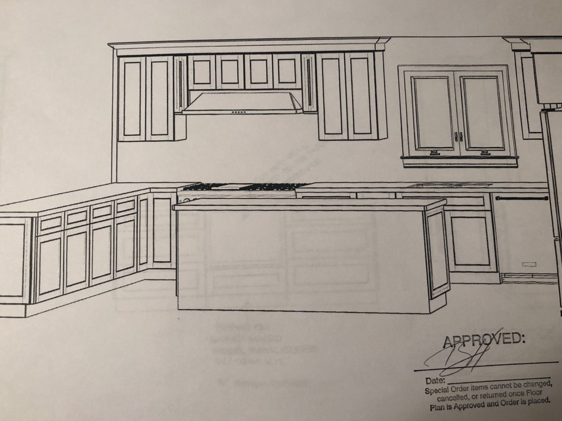 select an architect - kitchen drawings