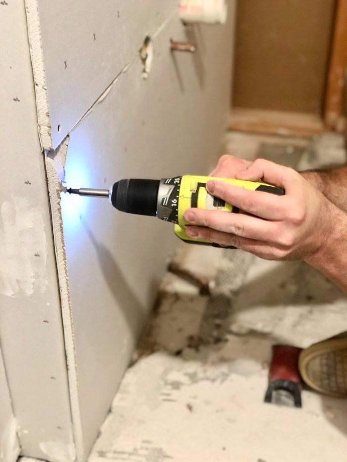 how to install drywall