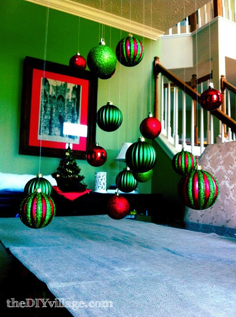 Dining Room Christmas Decor The DIY Village