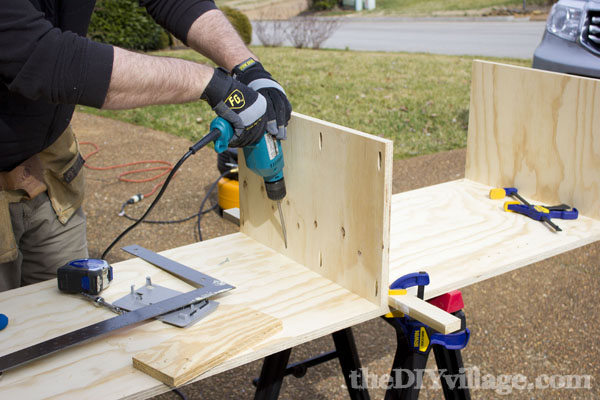 Kreg Jig Shelf Plans