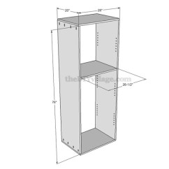 Diy Kitchen Pantry Cabinet Plans Target Chairs Build A Part 1 Included The Village For How To
