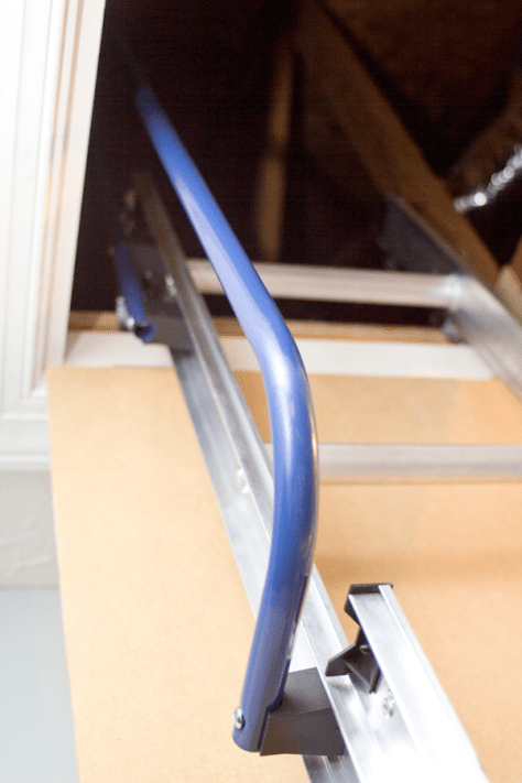Werner Compact Attic Ladder Review :: Hand Rail