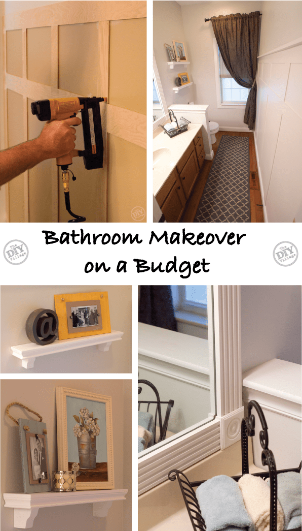 A Bathroom Makeover on a Budget  The DIY Village