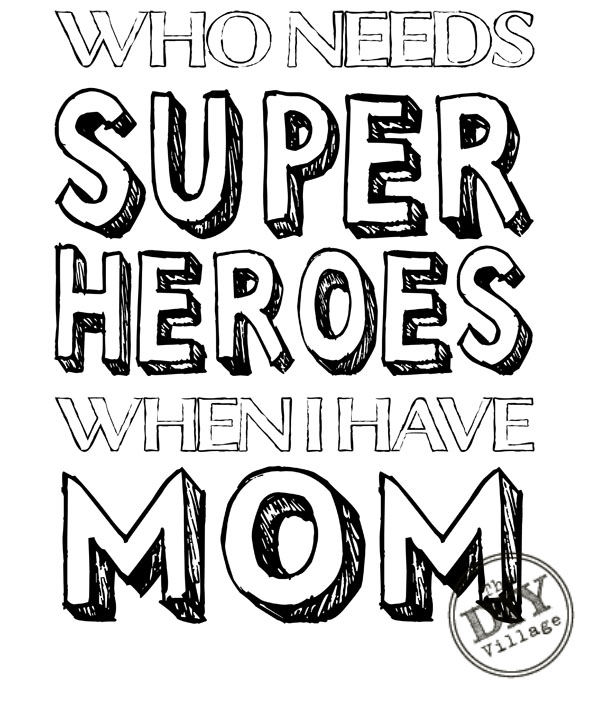 Superhero Mom Quotes. QuotesGram