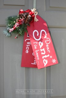 Diy Christmas Wall Decor Ideas - Village