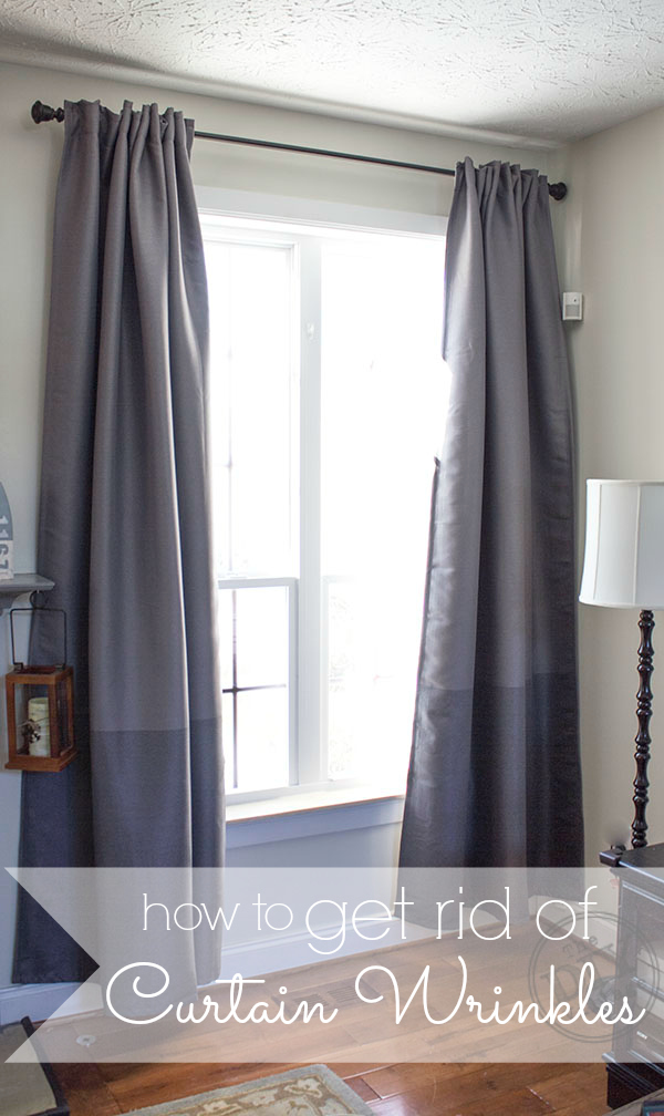 How To Get Rid Of Wrinkles In Curtains Without An Iron The DIY