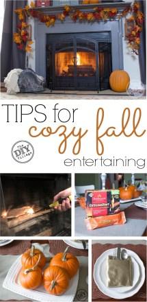 Tips Cozy Fall Entertaining - Diy Village