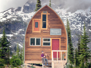 wendy thompson hut, pemberton, camping, backcountry,