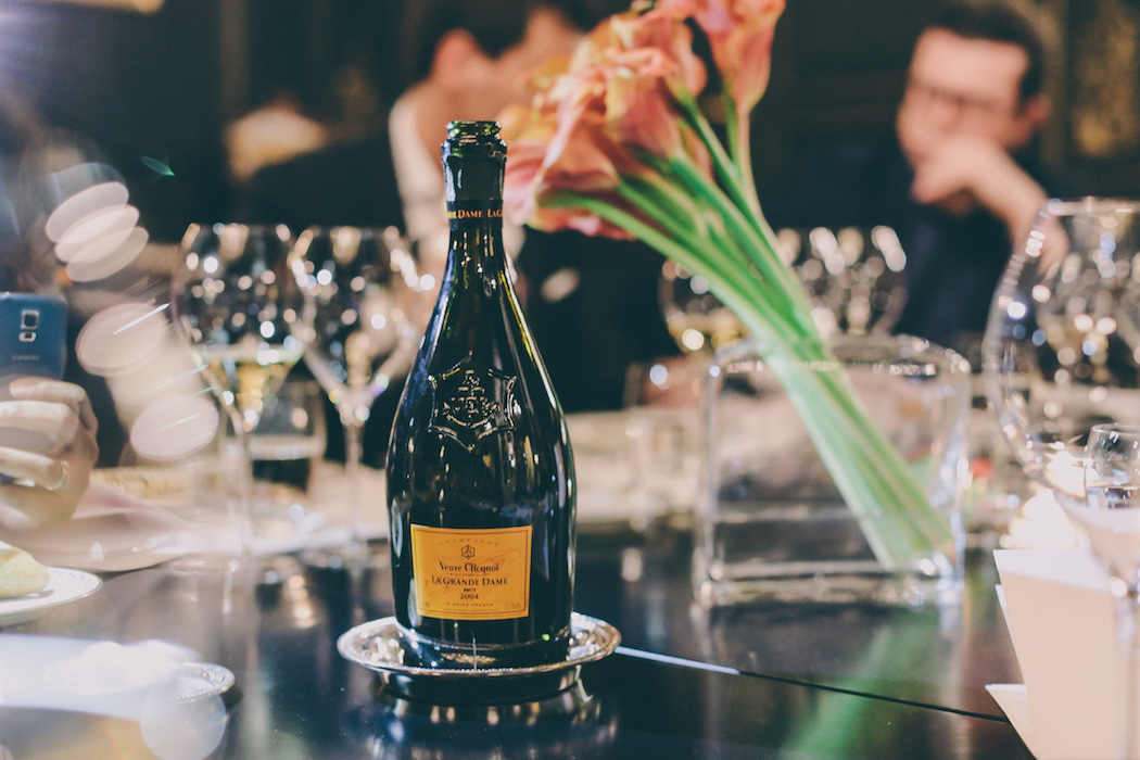 veuve clicquot grand dame chamapagne
