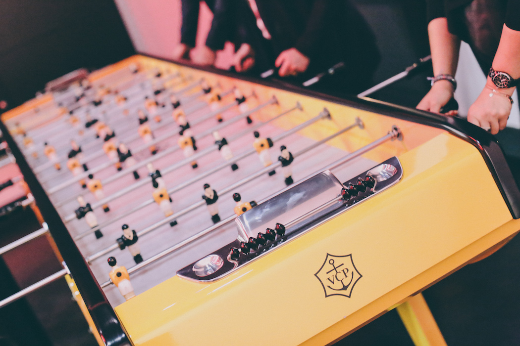 veuve clicquot reims hotel du marc table football