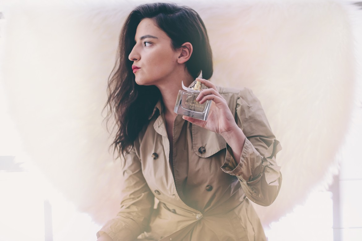 my burberry fragrance burberry trench anja tufina fashion blogger milano