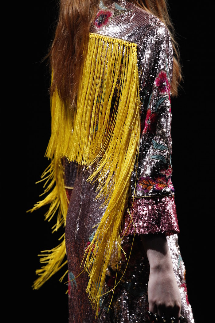fashion trend sequins at Gucci