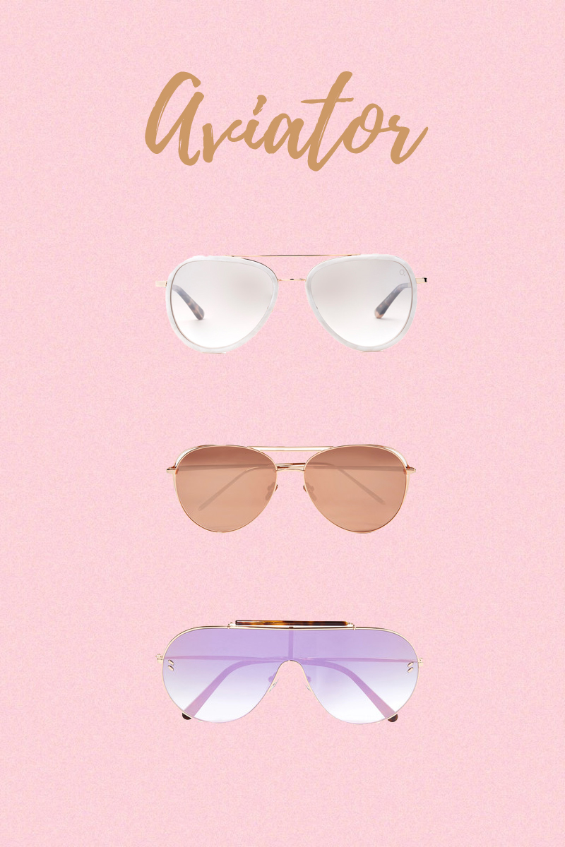 sunglasses trend aviator