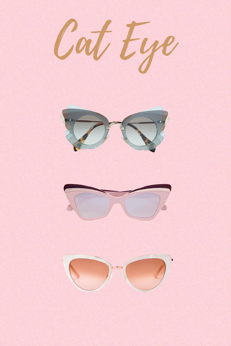 sunglasses trend cat eye