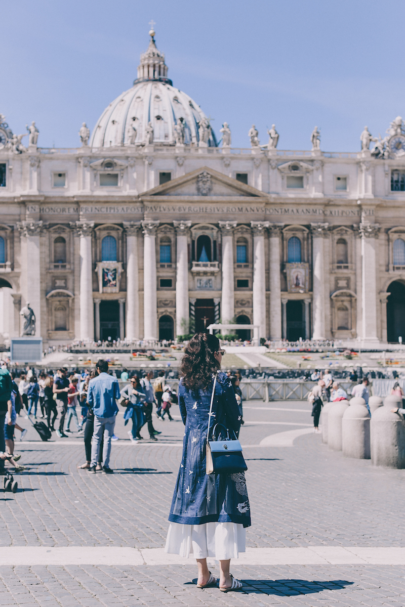 rome vatican city travel blogger thedollsfactory
