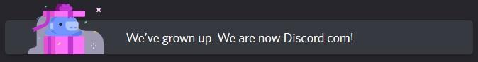 Discord now using Discord.com