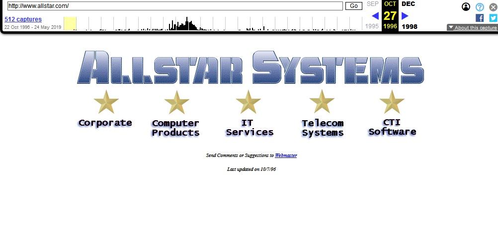 Allstar.com 1996
