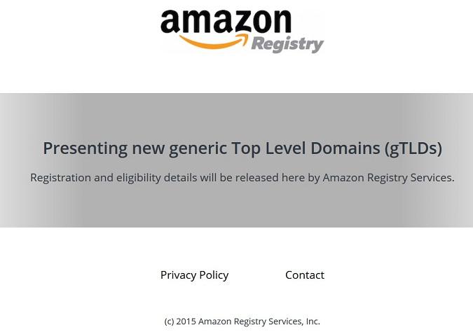 amazon-registry-website