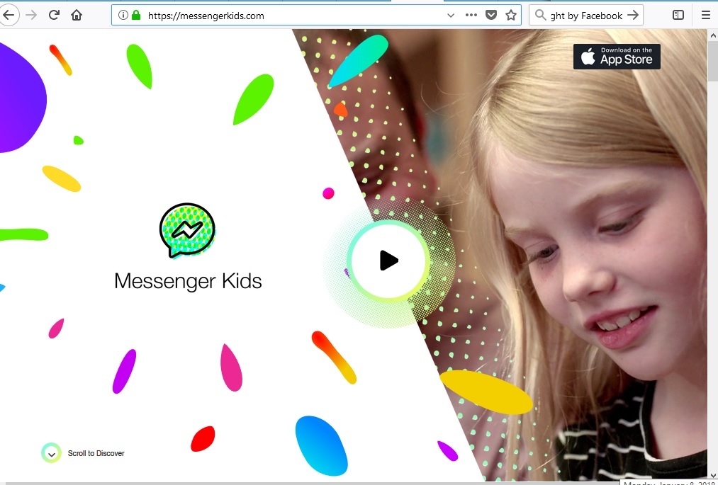 MessengerKids by Facebook
