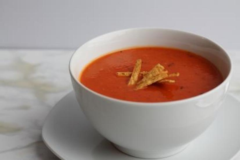 Roasted Red Peter & Sweet Potato Soup