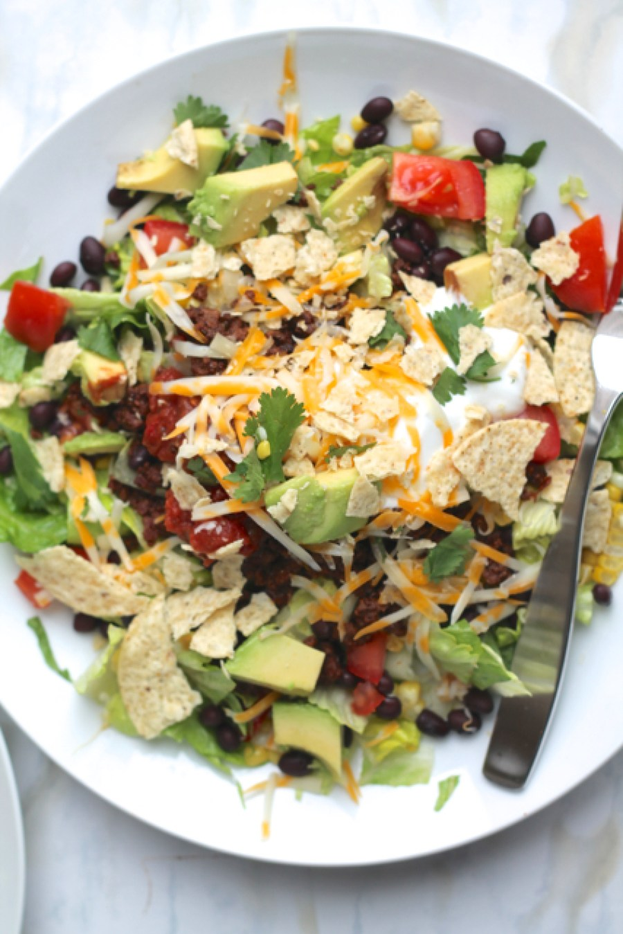 Our Favourite Taco Salad | thedomesticblonde.com