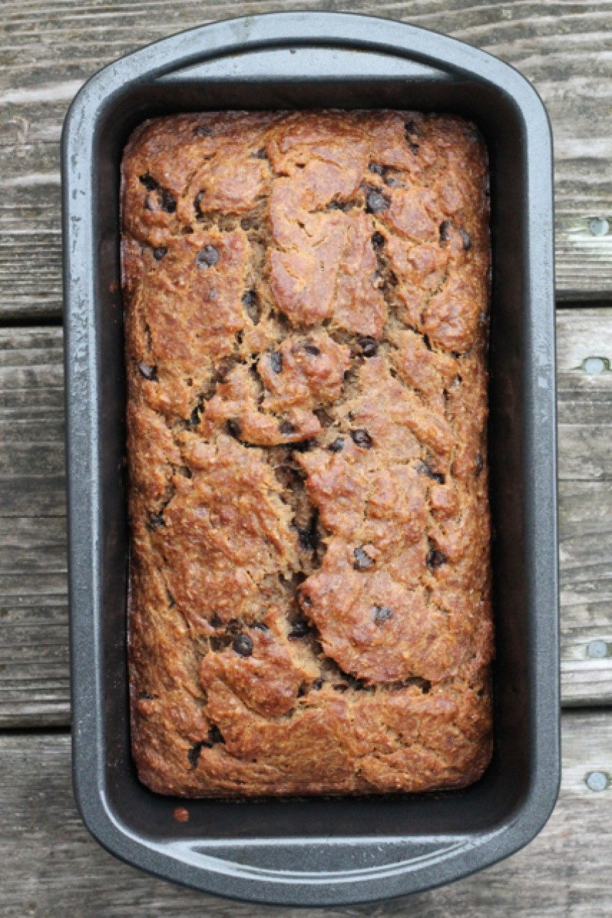 Brown Butter Banana Bread   thedomesticblonde.com
