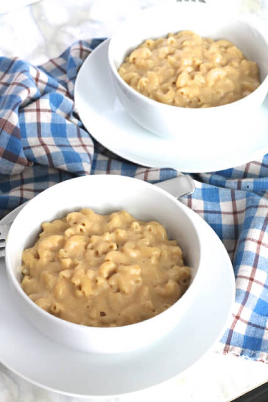The Best Vegan Mac & Cheese   thedomesticblonde.com