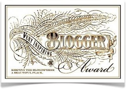 Very Inspiring Blogger Award| A Domestic Wildflower click to read what inspires this crafting, sewing, DIY, canning blogger and see why she's so inspiring!