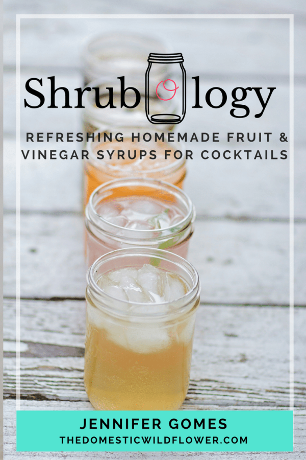 """Shrubology: Refreshing homemade fruit & vinegar syrups for cocktails 