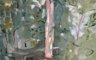 Jo Darvall - Rain Painting on Board 3