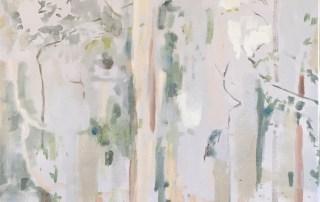 Jo Darvall - Rain Painting on Canvas 4