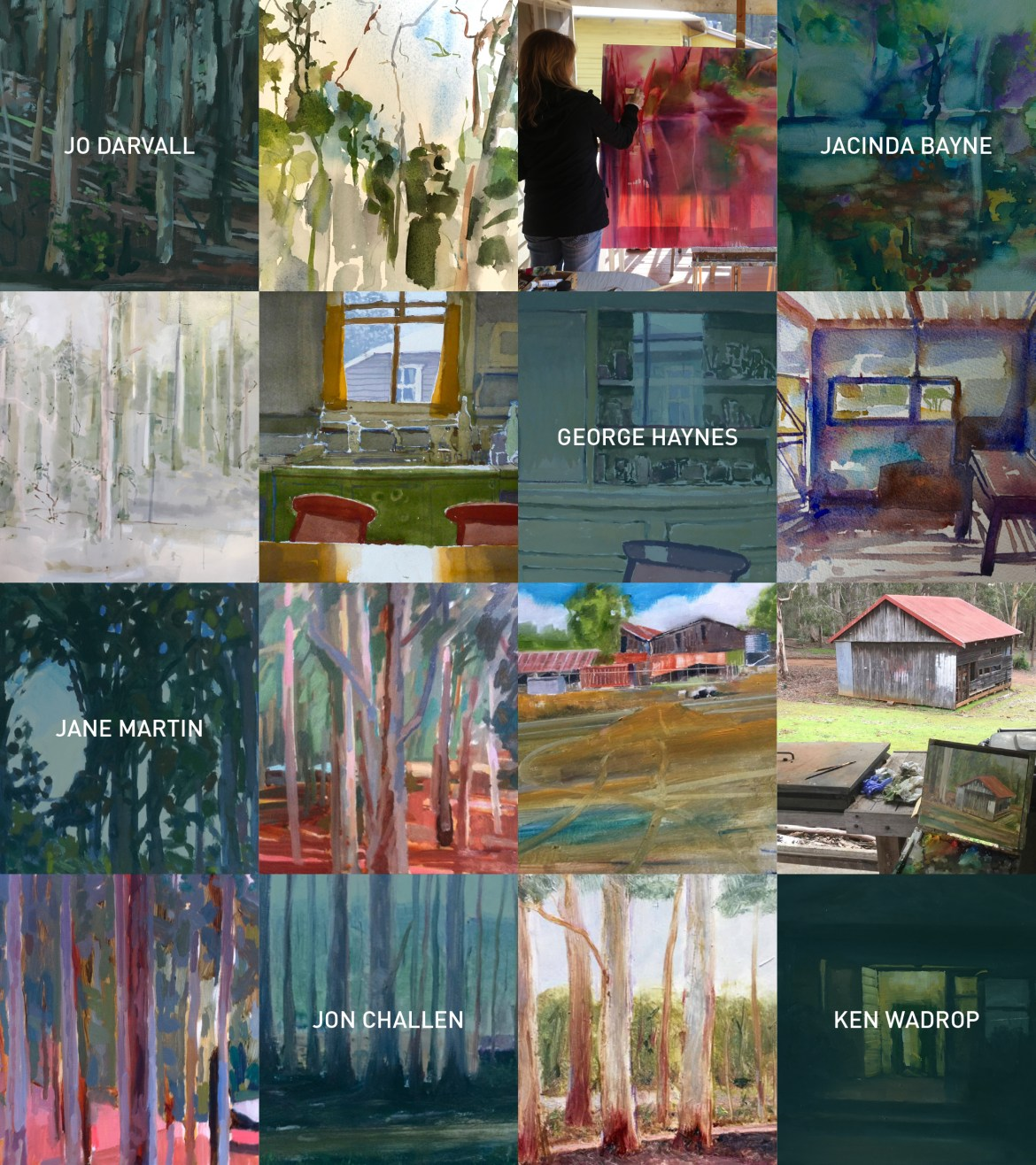 Invitation to Donnelly Verandah Residencies Exhibition at Earlywork