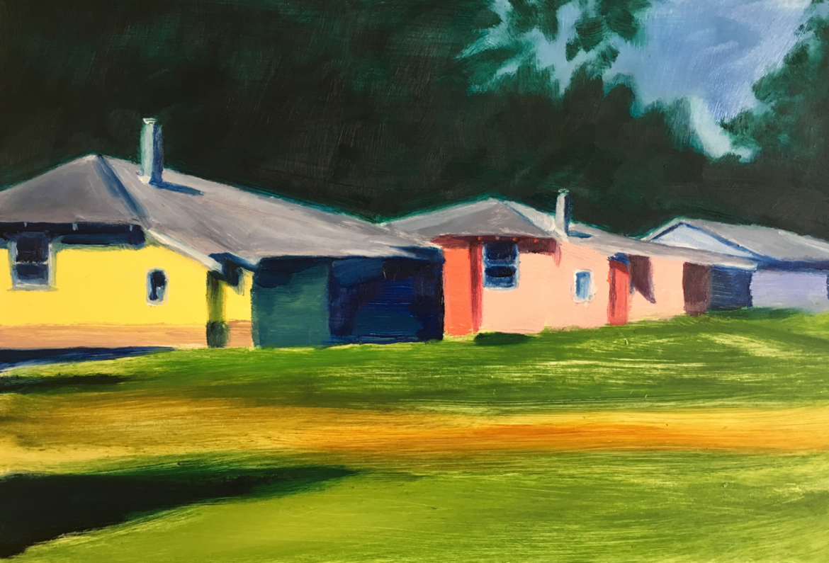Harvey Mullen, Donnelly River cottages